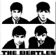 Beatles B&W Portraits fridge magnet